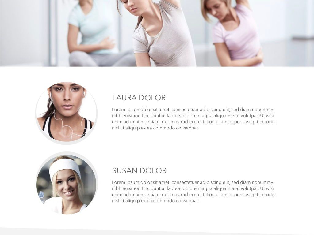 Fit Healthy Powerpoint Presentation Template, Slide 32, 05105, Presentation Templates — PoweredTemplate.com
