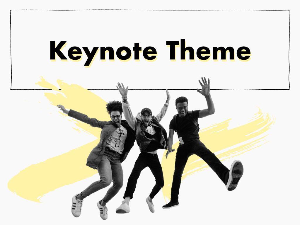 Sketched Keynote Theme, Slide 15, 05111, Presentation Templates — PoweredTemplate.com