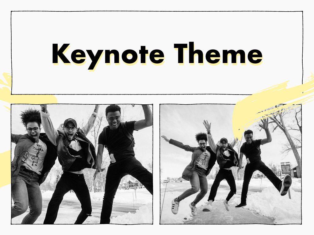 Sketched Keynote Theme, Slide 16, 05111, Presentation Templates — PoweredTemplate.com