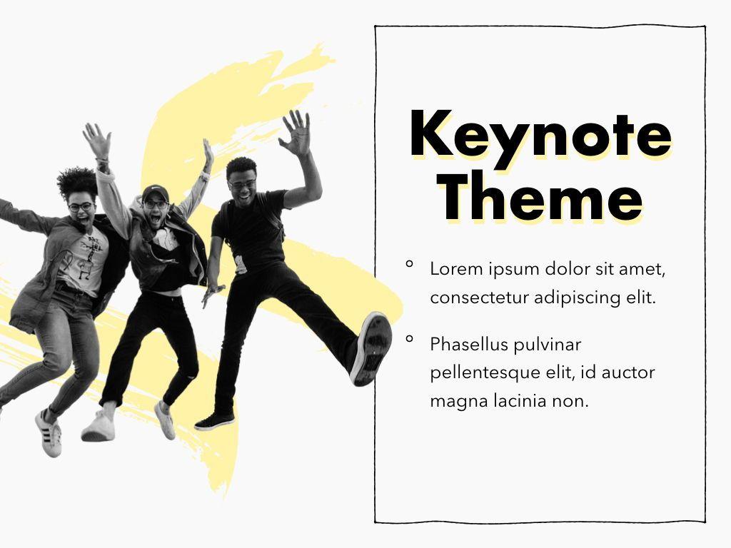 Sketched Keynote Theme, Slide 18, 05111, Presentation Templates — PoweredTemplate.com