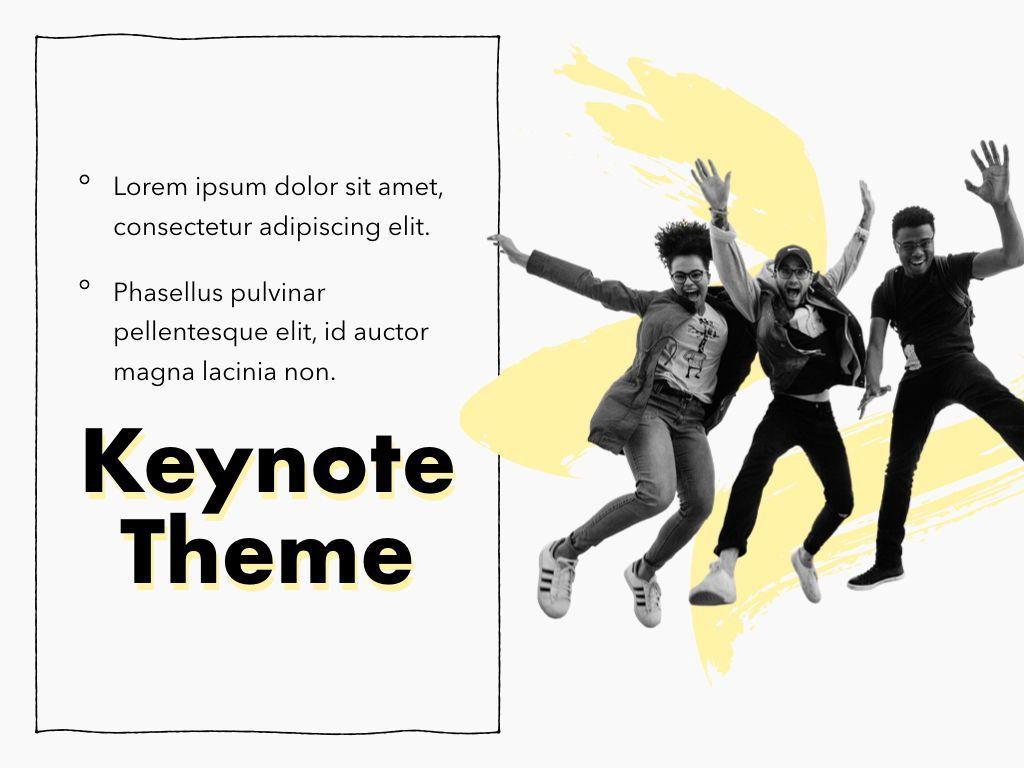 Sketched Keynote Theme, Slide 19, 05111, Presentation Templates — PoweredTemplate.com