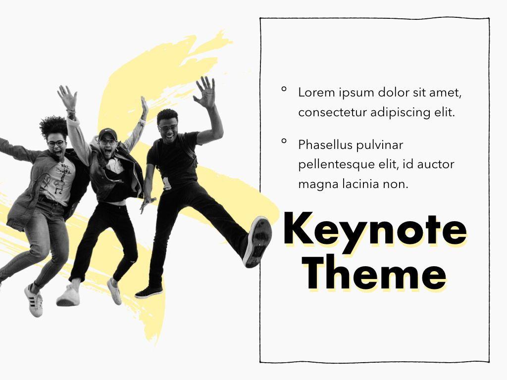 Sketched Keynote Theme, Slide 20, 05111, Presentation Templates — PoweredTemplate.com