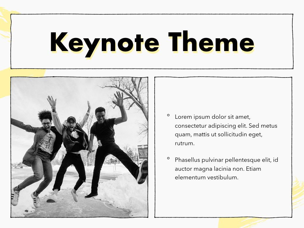 Sketched Keynote Theme, Slide 31, 05111, Presentation Templates — PoweredTemplate.com