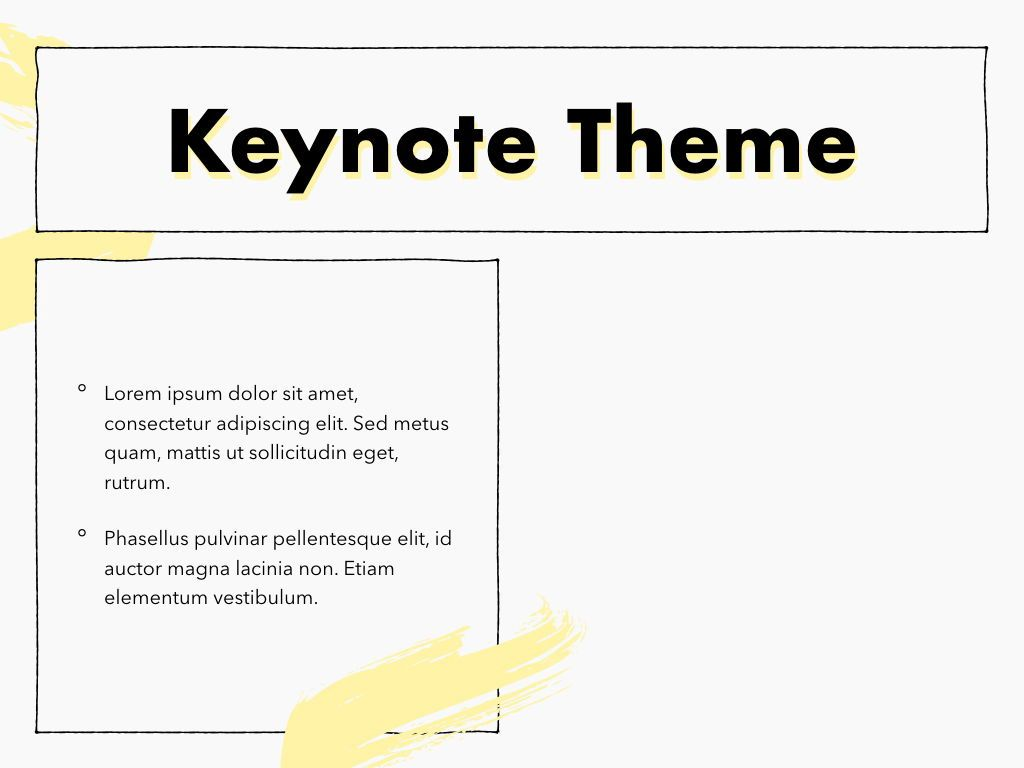 Sketched Keynote Theme, Slide 32, 05111, Presentation Templates — PoweredTemplate.com