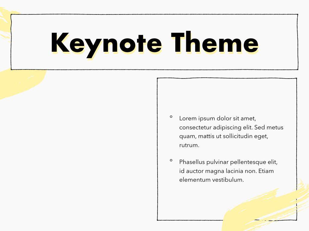 Sketched Keynote Theme, Slide 33, 05111, Presentation Templates — PoweredTemplate.com