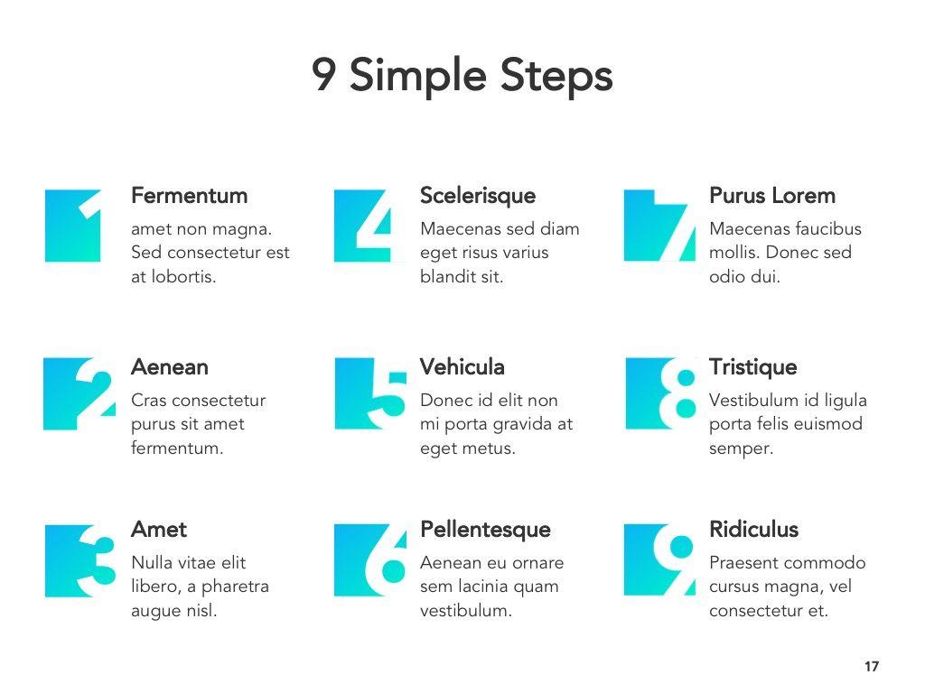 Project Planning Google Slides Template, Slide 18, 05112, Presentation Templates — PoweredTemplate.com
