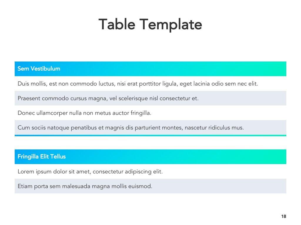 Project Planning Google Slides Template, Slide 19, 05112, Presentation Templates — PoweredTemplate.com