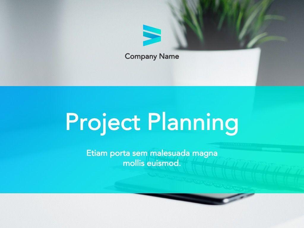 Project Planning Google Slides Template, Slide 2, 05112, Presentation Templates — PoweredTemplate.com