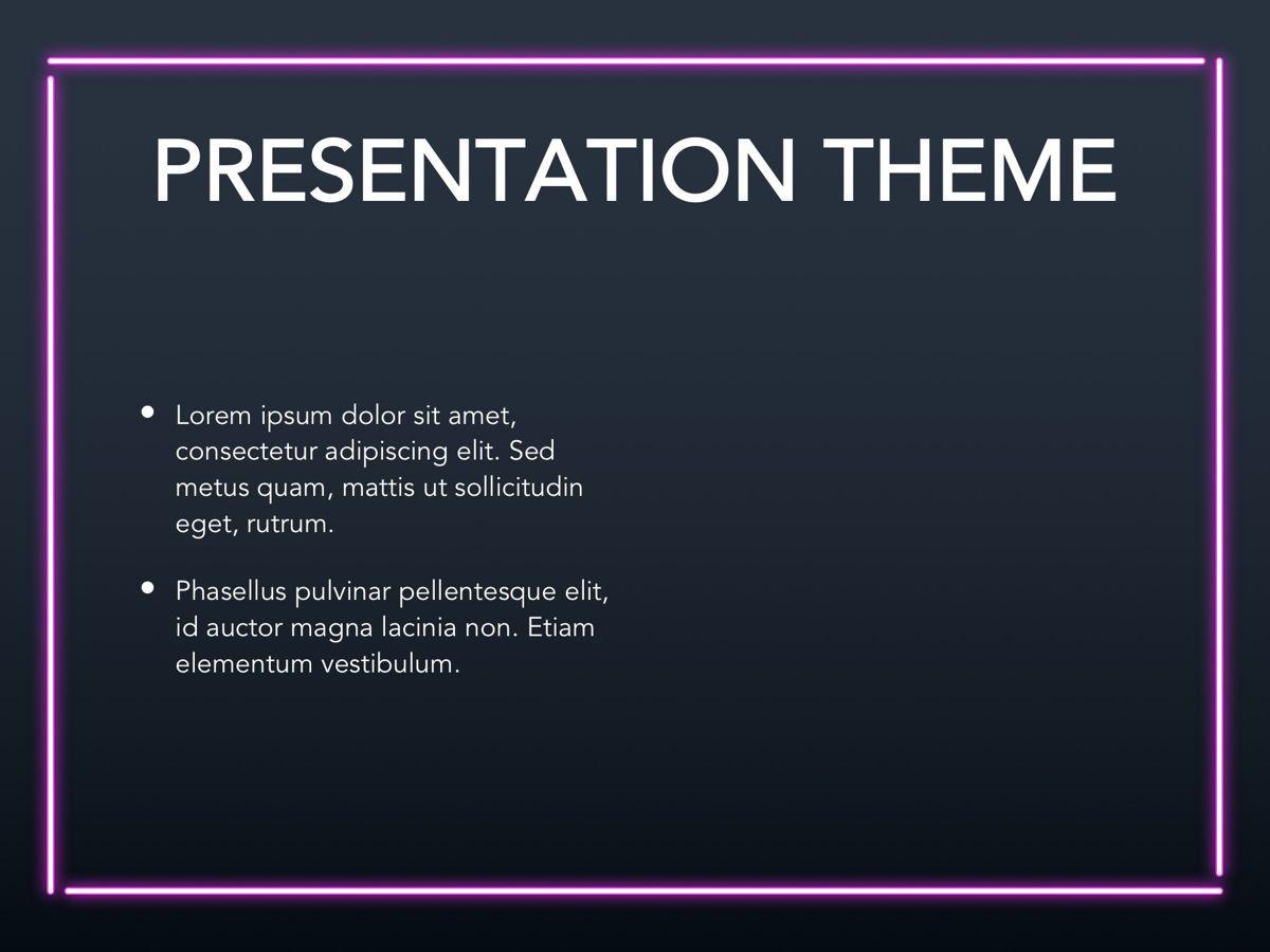 Neon Splash Google Slides Template, Slide 29, 05113, Presentation Templates — PoweredTemplate.com