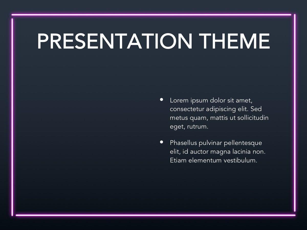 Neon Splash Google Slides Template, Slide 30, 05113, Presentation Templates — PoweredTemplate.com