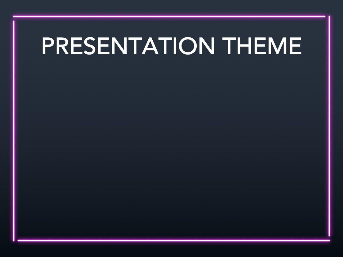 Neon Splash Google Slides Template, Slide 6, 05113, Presentation Templates — PoweredTemplate.com