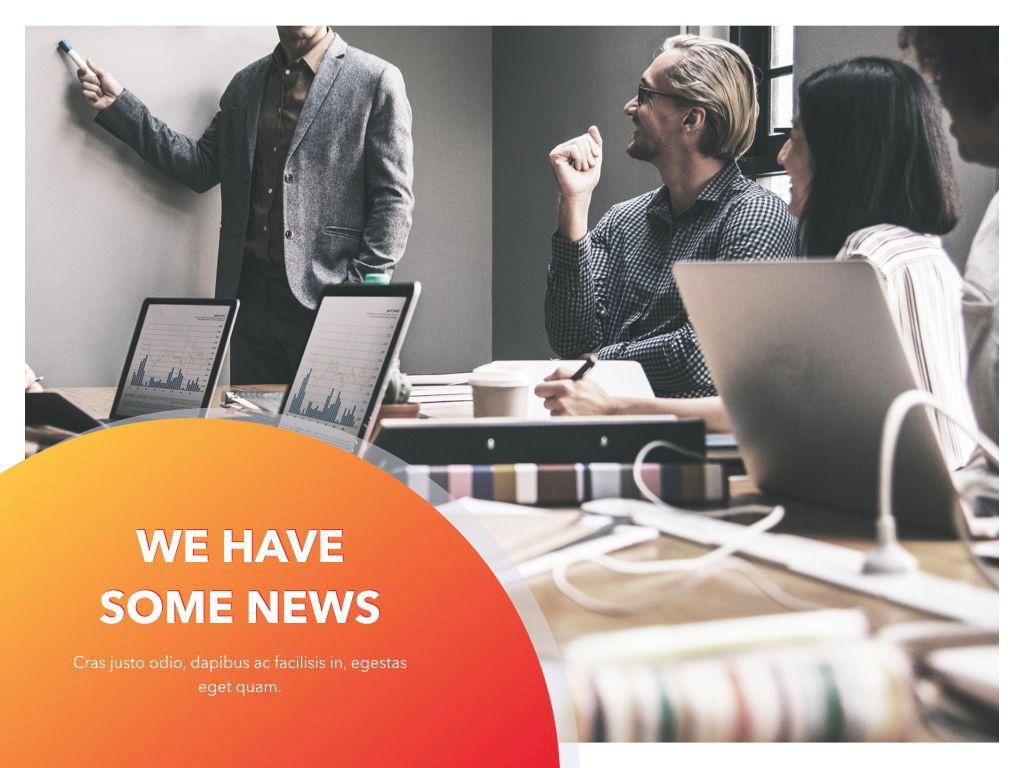 Weekly Meeting PowerPoint Template, Slide 10, 05114, Presentation Templates — PoweredTemplate.com