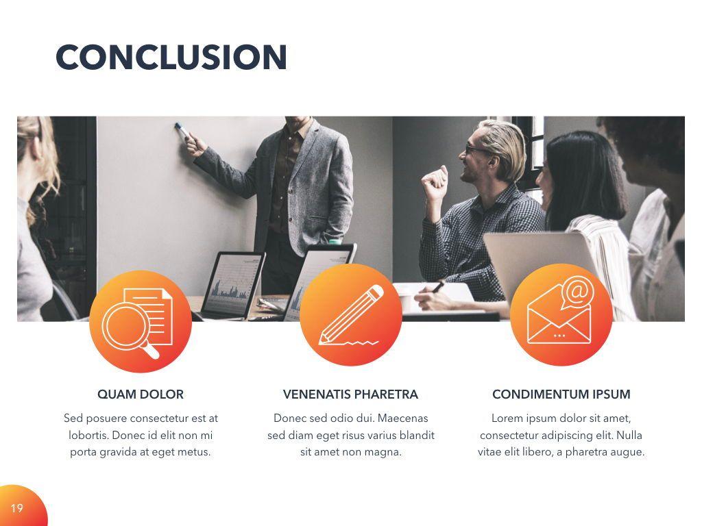 Weekly Meeting PowerPoint Template, Slide 20, 05114, Presentation Templates — PoweredTemplate.com