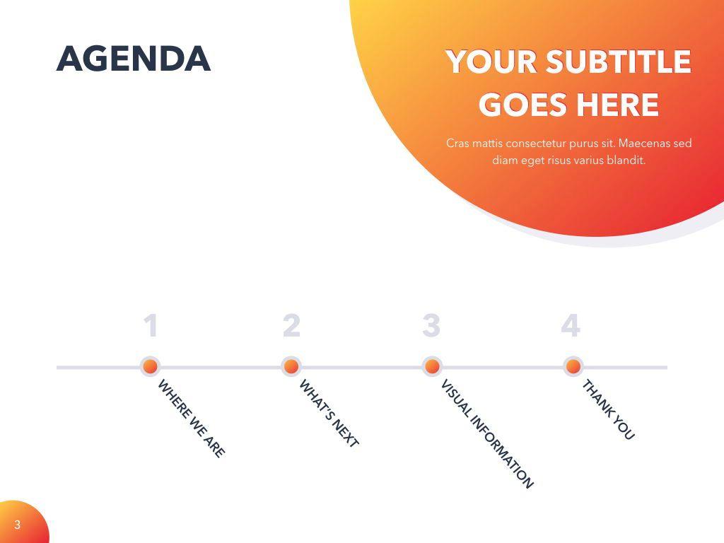 Weekly Meeting PowerPoint Template, Slide 4, 05114, Presentation Templates — PoweredTemplate.com