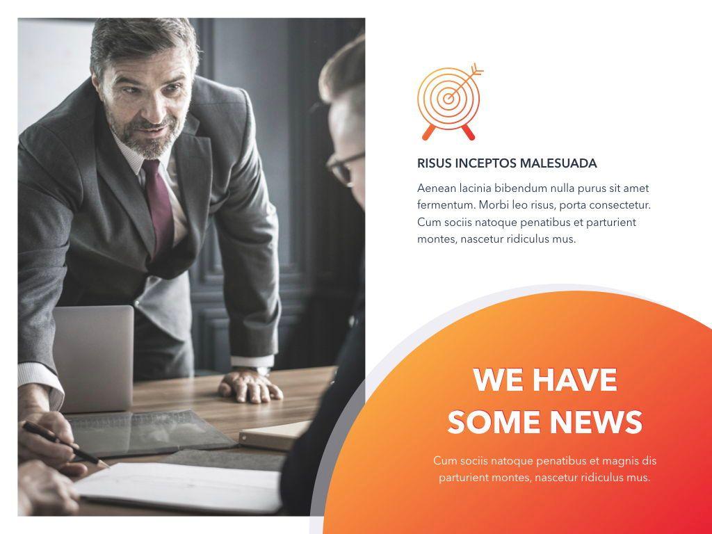 Weekly Meeting PowerPoint Template, Slide 9, 05114, Presentation Templates — PoweredTemplate.com