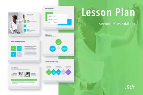 Presentation Templates: Lesson Plan Keynote Template #05115