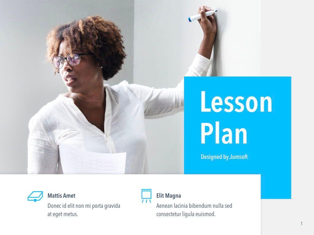 Lesson Plan Keynote Template, Slide 2, 05115, Presentation Templates — PoweredTemplate.com