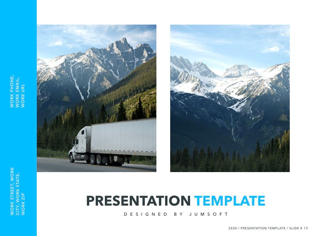 Logistics Keynote Theme, Slide 14, 05117, Presentation Templates — PoweredTemplate.com