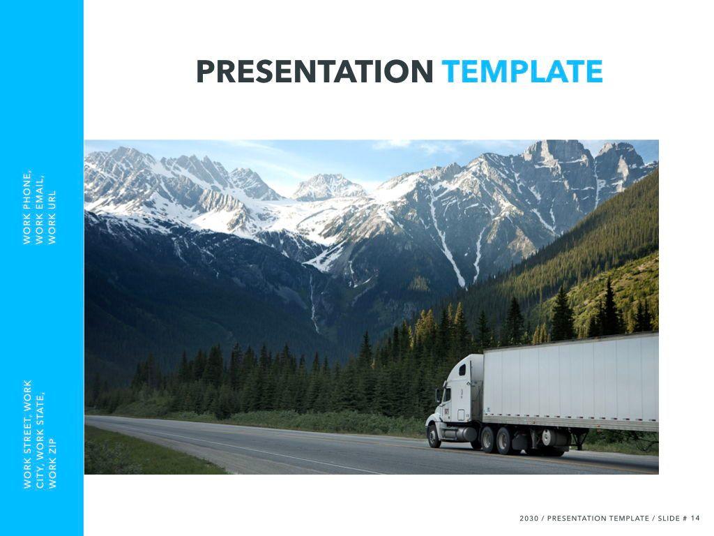 Logistics Keynote Theme, Slide 15, 05117, Presentation Templates — PoweredTemplate.com