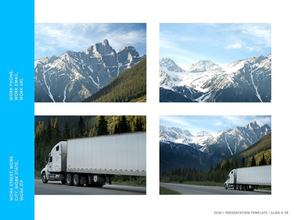 Logistics Keynote Theme, Slide 29, 05117, Presentation Templates — PoweredTemplate.com