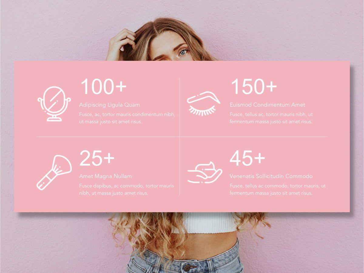 Beauty Maker Google Slides Template, Slide 10, 05118, Presentation Templates — PoweredTemplate.com
