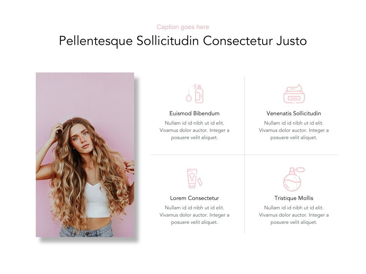 Beauty Maker Google Slides Template, Slide 11, 05118, Presentation Templates — PoweredTemplate.com