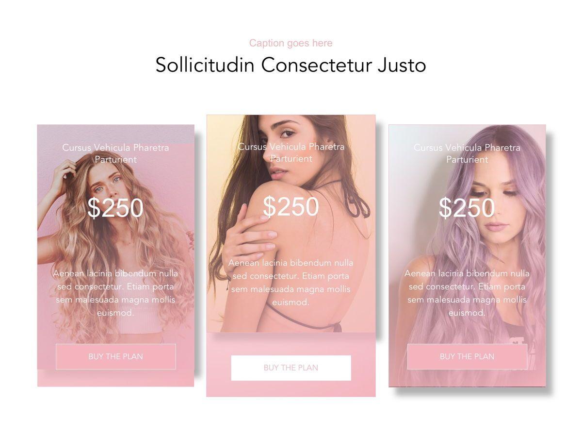 Beauty Maker Google Slides Template, Slide 13, 05118, Presentation Templates — PoweredTemplate.com