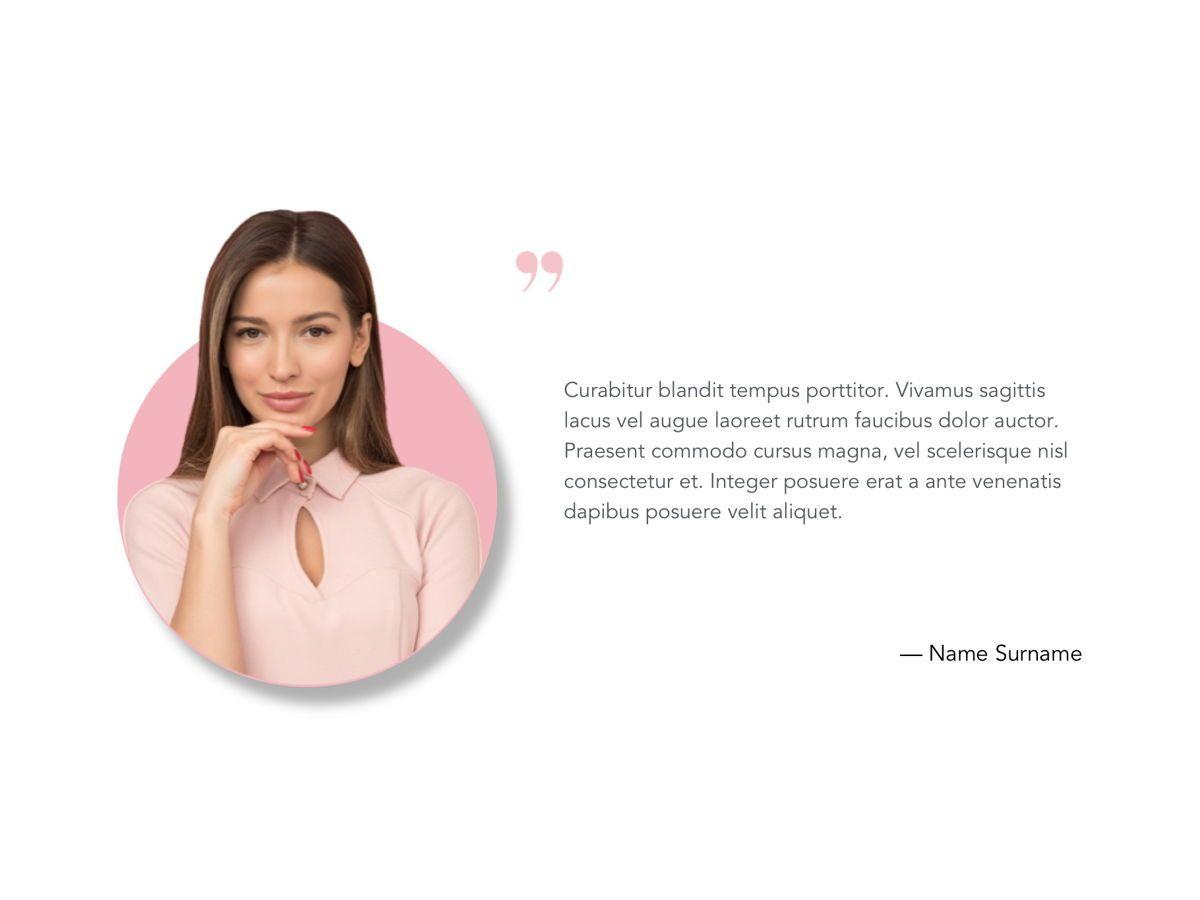 Beauty Maker Google Slides Template, Slide 15, 05118, Presentation Templates — PoweredTemplate.com