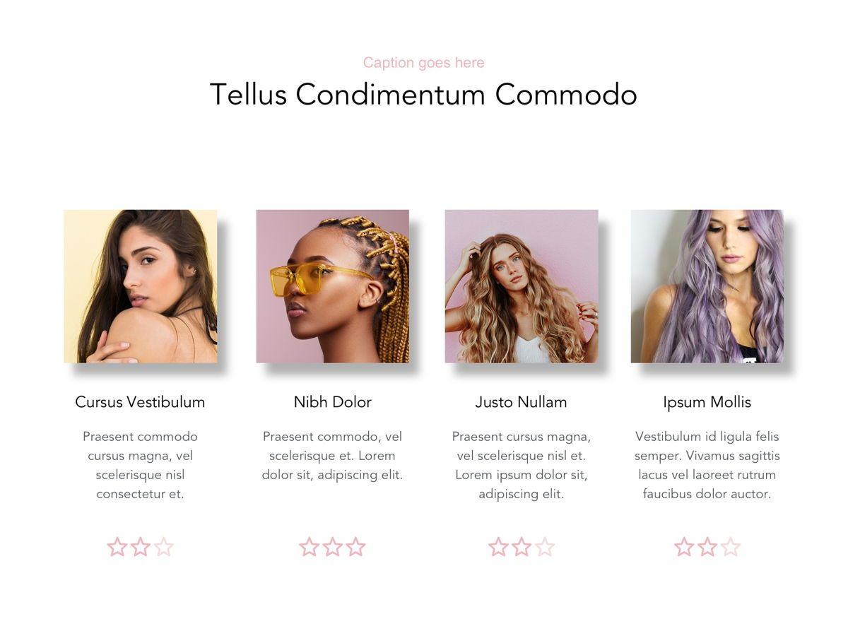 Beauty Maker Google Slides Template, Slide 16, 05118, Presentation Templates — PoweredTemplate.com