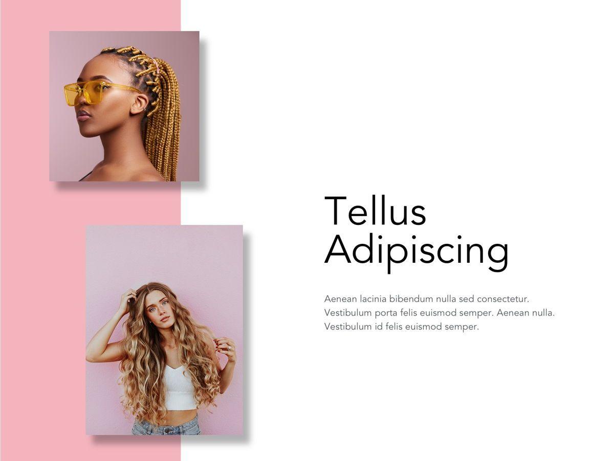 Beauty Maker Google Slides Template, Slide 7, 05118, Presentation Templates — PoweredTemplate.com