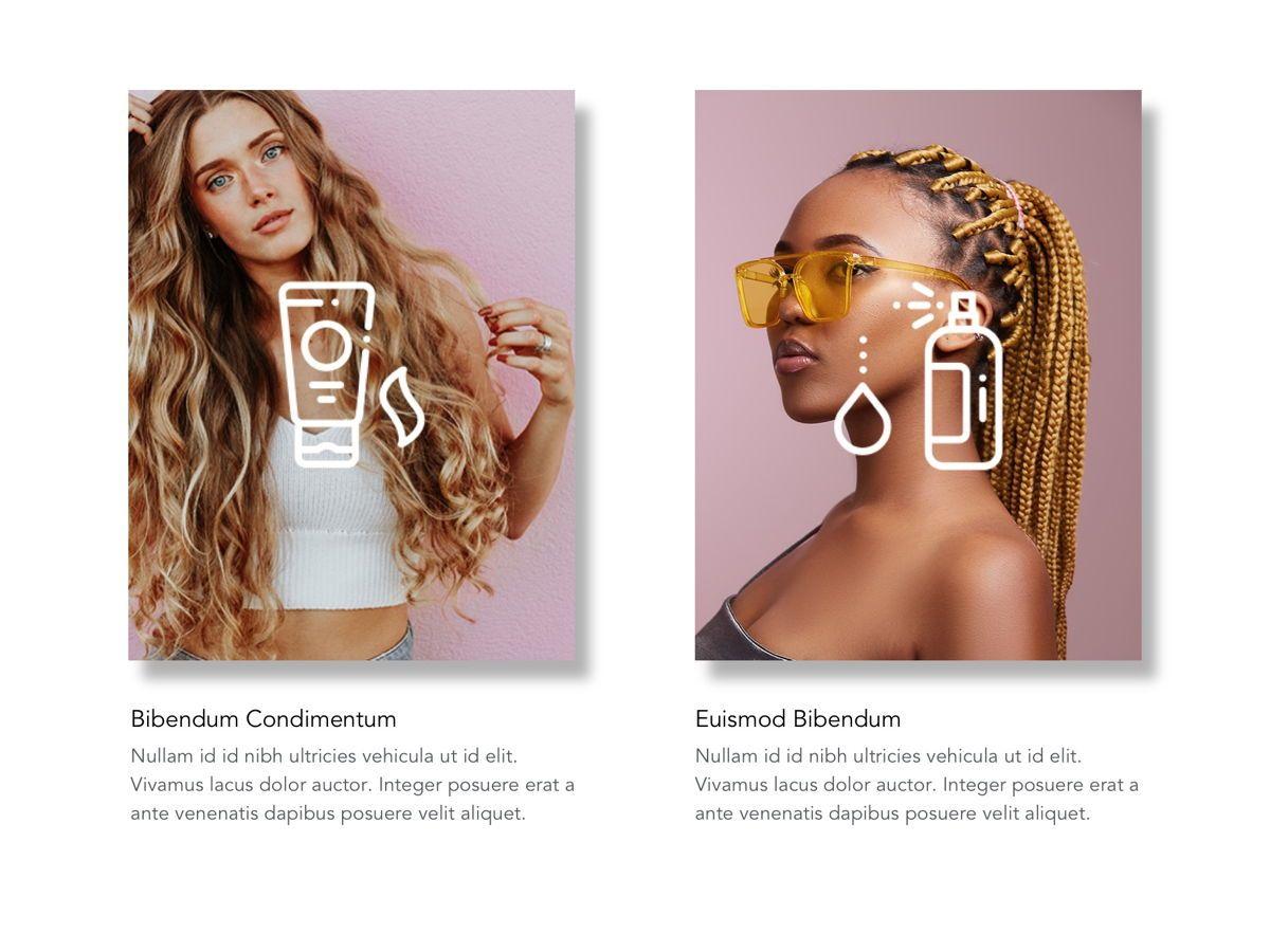 Beauty Maker Google Slides Template, Slide 9, 05118, Presentation Templates — PoweredTemplate.com