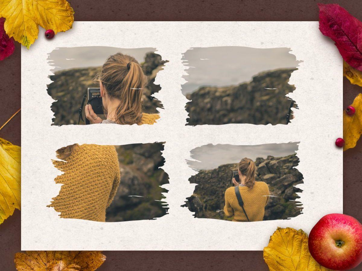 Golden Leaves Google Slides Theme, Slide 26, 05119, Presentation Templates — PoweredTemplate.com