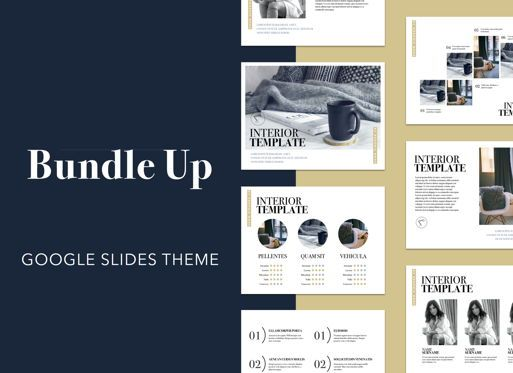 Presentation Templates: Bundle Up Google Slides Presentation Template #05120