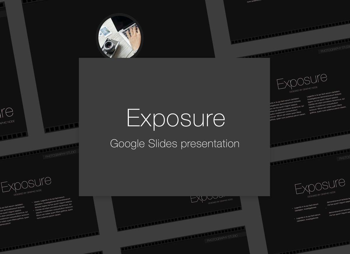 Exposure Google Slides Presentation Template, 05125, Presentation Templates — PoweredTemplate.com