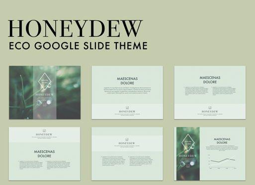 Presentation Templates: Honeydew Google Slides Presentation Template #05129