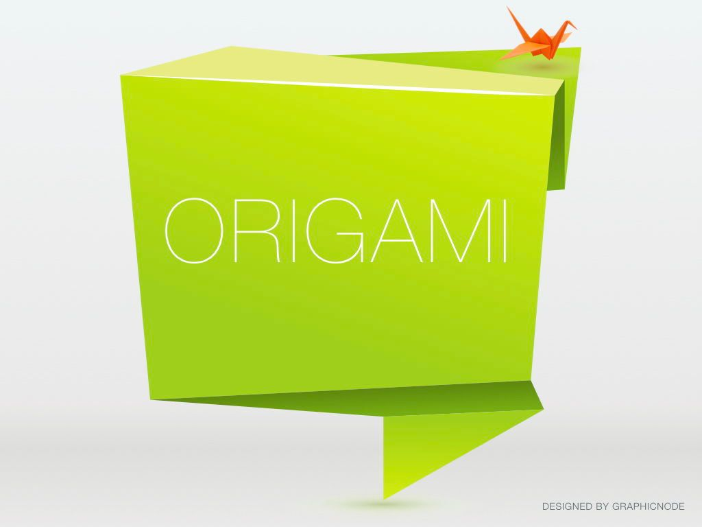 Origami Google Slides Presentation Template, Slide 11, 05132, Presentation Templates — PoweredTemplate.com
