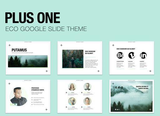 Presentation Templates: Plus One Google Slides Presentation Template #05133
