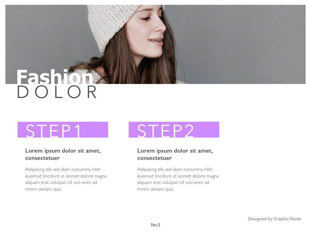 Purple Lining Google Slides Presentation Template, Slide 4, 05134, Presentation Templates — PoweredTemplate.com