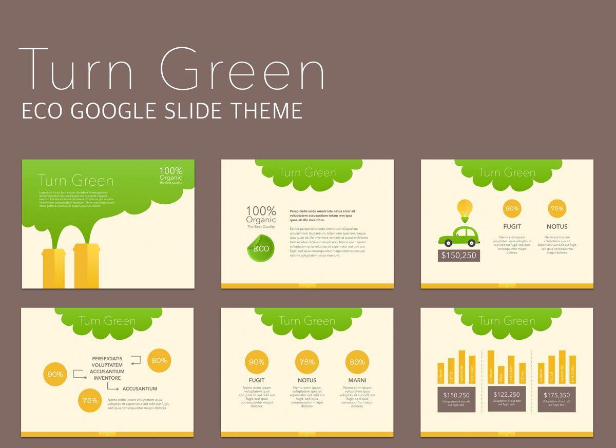 Turn Green Google Slides Presentation Template, 05137, Presentation Templates — PoweredTemplate.com