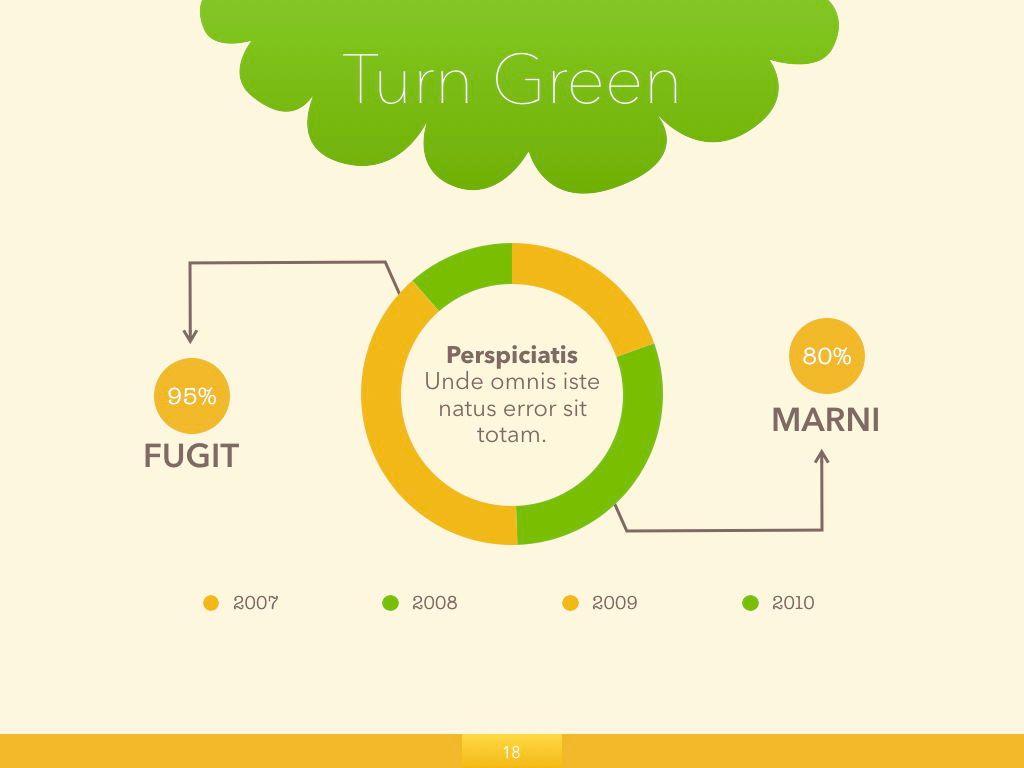 Turn Green Google Slides Presentation Template, Slide 11, 05137, Presentation Templates — PoweredTemplate.com
