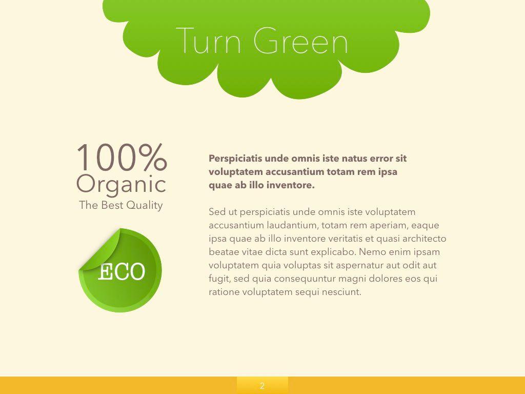 Turn Green Google Slides Presentation Template, Slide 18, 05137, Presentation Templates — PoweredTemplate.com
