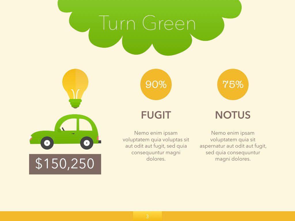 Turn Green Google Slides Presentation Template, Slide 19, 05137, Presentation Templates — PoweredTemplate.com