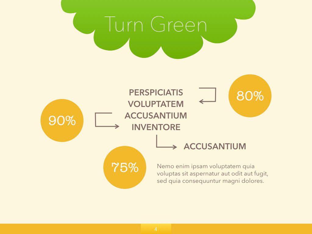 Turn Green Google Slides Presentation Template, Slide 20, 05137, Presentation Templates — PoweredTemplate.com