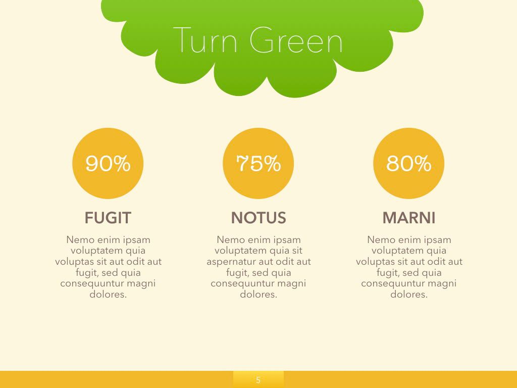 Turn Green Google Slides Presentation Template, Slide 21, 05137, Presentation Templates — PoweredTemplate.com