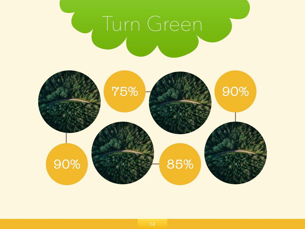 Turn Green Google Slides Presentation Template, Slide 7, 05137, Presentation Templates — PoweredTemplate.com