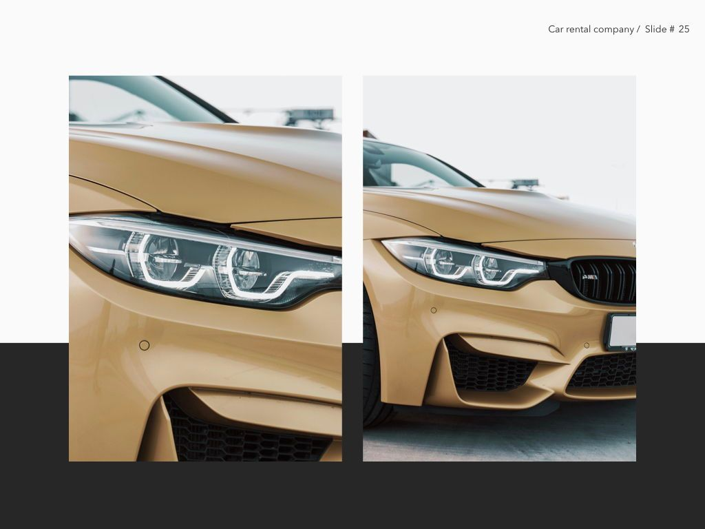 Car Rental Keynote Theme, Slide 26, 05140, Presentation Templates — PoweredTemplate.com