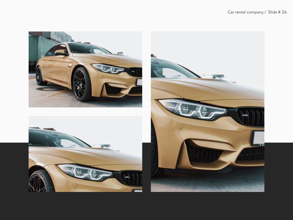 Car Rental Keynote Theme, Slide 27, 05140, Presentation Templates — PoweredTemplate.com