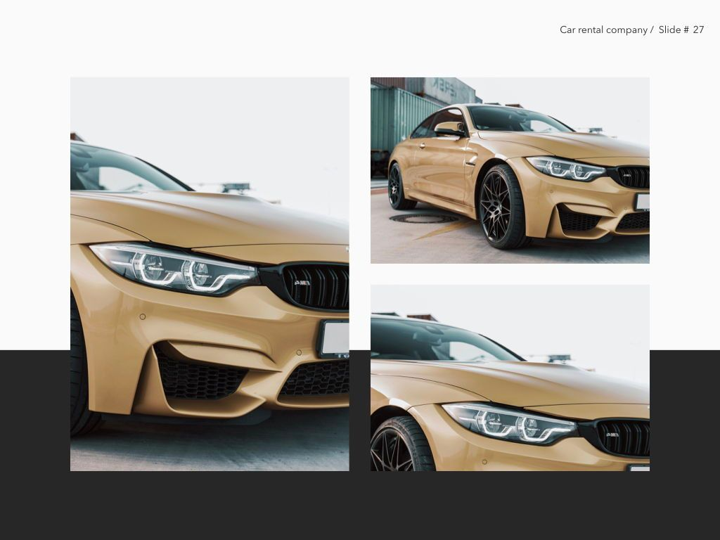 Car Rental Keynote Theme, Slide 28, 05140, Presentation Templates — PoweredTemplate.com