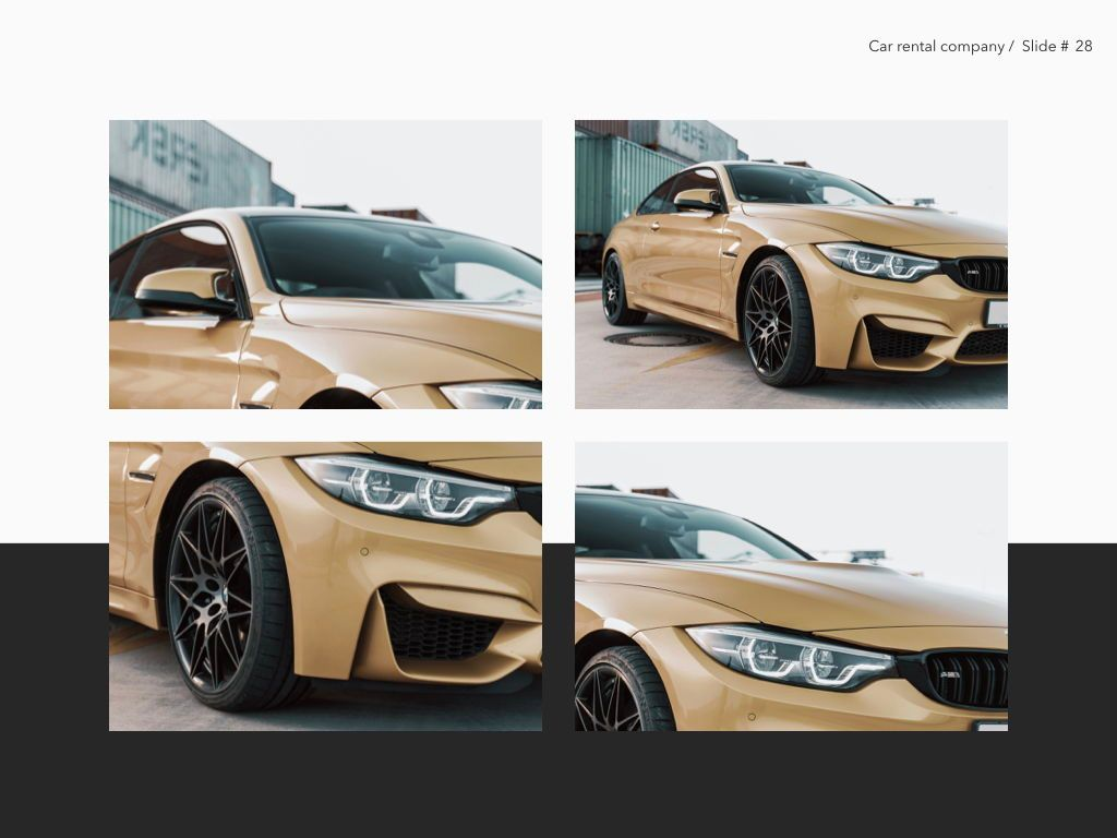 Car Rental Keynote Theme, Slide 29, 05140, Presentation Templates — PoweredTemplate.com