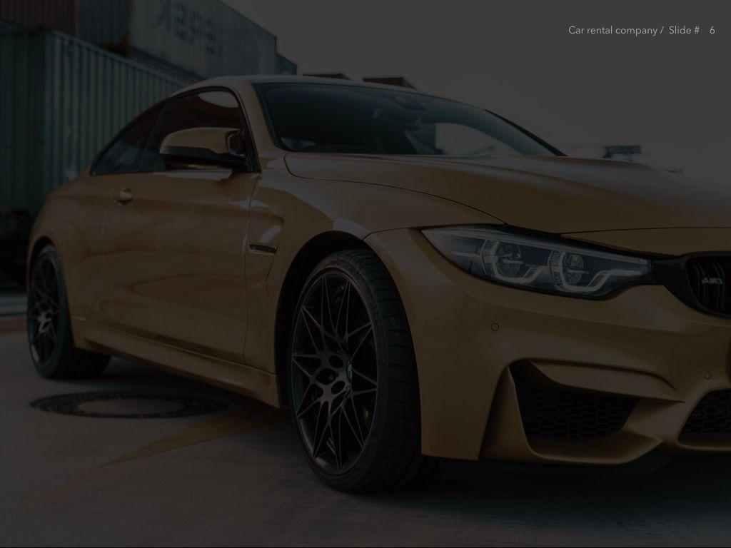 Car Rental Keynote Theme, Slide 7, 05140, Presentation Templates — PoweredTemplate.com